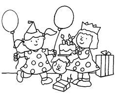Kleurplaten Verjaardag Voor Peuters.55 Beste Afbeeldingen Van Kleuters Kleurplaten Verjaardag Geboorte