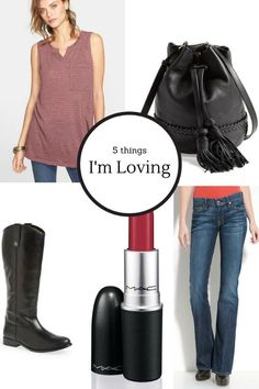 5 things I'm loving right now