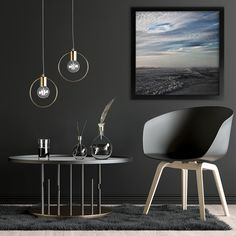 Beautiful stormy seas single print 🌊 So complementing to this dark charcoal interior. South African Decor, Stormy Sea, Art Prints For Home, Gold Interior, Beach Wall Art, Landscape Walls, Interior Inspiration, Wall Art Prints, Seas