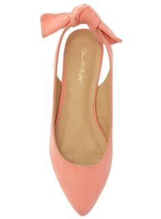Coral bow flats
