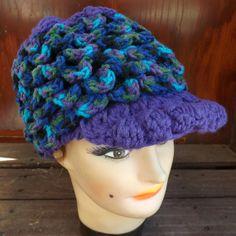 Hand Crochet Hat Women Hat  CROCODILE Stitch by strawberrycouture, $50.00