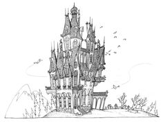 Castles / #drawing #studies / Sony Pictures / LUC