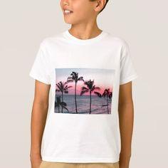 #Sunset Beach T-Shirt - #cool #kids #shirts #child #children #toddler #toddlers #kidsfashion