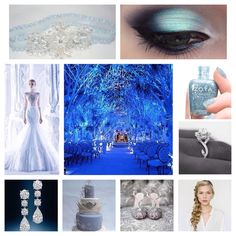 New on the blog - Disney's Frozen Wedding Inspiration. #frozen #blueblog #somethingbluedc