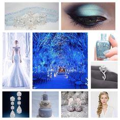 New on the blog - Disney's Frozen Wedding Inspiration. #frozen #blueblog #somethingbluedc