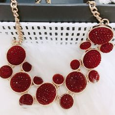 "79 gilla-markeringar, 13 kommentarer - Patricia Palmgren (@trimpati) på Instagram: ""Statement Necklaces my fav! 💥 Get inspired 🙈 ________ #jewellery #jewelrylover #jewelry #like…"""