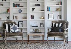 New Library bookshelves from IKEA Billy Bookshelves-Styled | 11 Magnolia Lane