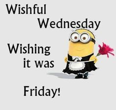 Make a wish for positive results of your online business and enjoy Wednesday! Funny Wednesday Quotes, Wednesday Morning Quotes, Wednesday Wishes, Wednesday Humor, Its Friday Quotes, Funny Quotes, Cute Minion Quotes, Medical Coding Course, Monday's Child