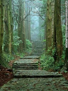 """Daimonzaka. For those who've always wanted to feel like they're on a """"Lord of the Rings"""" set. In Japan."""