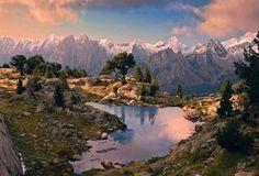 Parc Nacional d'Aigües Tortes - Pirineu- Catalunya
