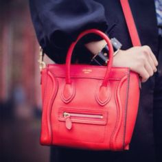 New red TRIO...instore now!! | C¨¦LINE | Pinterest | Celine, Red ...