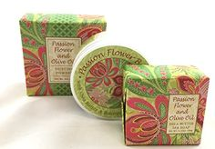 Greenwich Bay 3 Piece Beauty Gift Set of : Body Butter, Spa Soap, and Dusting Powder (Passion Flower) -- You can get more details by clicking on the image.
