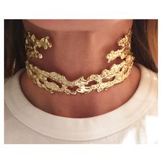 New Gold Jennifer Fisher Molten Chokers for FW16 coming soon