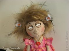 Куклы Шитьё Куколка по выкройке Джилл Маас  фото 2