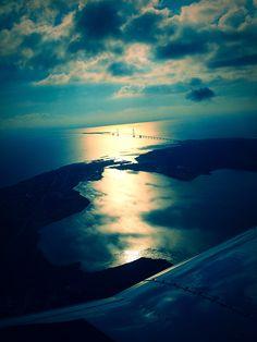 Luftfoto over storebælt