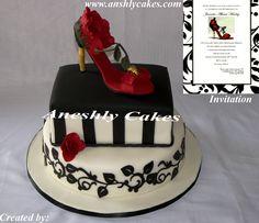 Shoe Cake. #aneshlycakes.com #www.aneshlycakes.com
