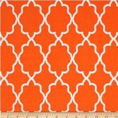Michael Miller Coco Cabana Moroccan Lattice Orange