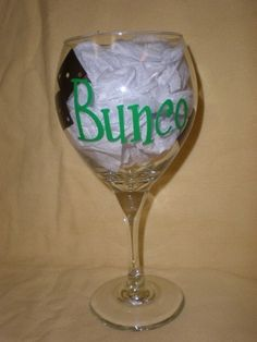 Bunco glass