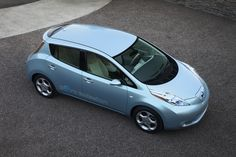 Nissan LEAF, shiny