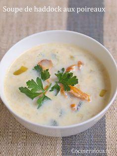 Soupe de haddock aux pommes de terre et aux poireaux [Cullen Skink]