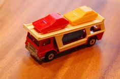 Matchbox Cars Looking For Boxes - MB 11 Car Transporter