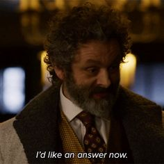 Trending GIF cbs cbs all access the good wife the good fight michael sheen roland blum i need an answer answer me now id like an answer now Make Money Online, How To Make Money, Dying Of The Light, Tom Payne, Prodigal Son, Michael Sheen, Hey Man, Good Wife, David Tennant