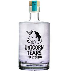 Unicorn Tears Unicorn Tears Gin Liqueur (980 MXN) ❤ liked on Polyvore featuring home and kitchen & dining
