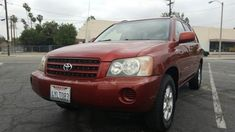 Sport Utility 2002 Toyota Highlander With 4 Door In Pomona Ca Usa Cars Collection