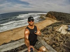 Finally got to hang out at Bells beach  Home time today had a relaxing time down in Victoria. Saw everything and everyone I wanted to. Met up with family I hadn't seen since I was 3 years old which was a massive shock... mostly to them haha.  #bellsbeach #deekayfit #igersvictoria #ig_australia #victoria #gopro #polarpro #geelong #goproanz @ig_australia__ by mitch_gilmore_ http://ift.tt/1KnoFsa