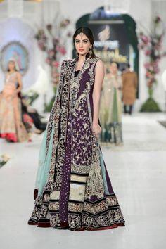Get it at amani www.facebook.com/2amani Pakistani Fashion, Pakistani dress, bridal couture week #Pakistani fashion #Pakistani clothes