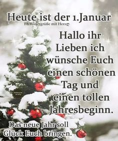 Xmas Greetings, Happy New Year Greetings, New Year Wishes, Birthday Greetings, Happy New Year Animation, Happy New Year Gif, Happy Day, German Quotes, Good Morning Funny