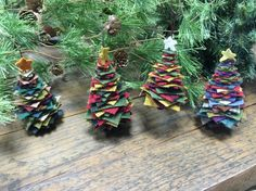 wool trees made of squares