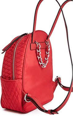 ba7aed290e5 ... Fashion Shoulder Bag Backpack. Nkhalid · school · Amazon.com | GUESS  Factory Women's Larson Quilted Backpack | Casual Daypacks Purse Wallet,
