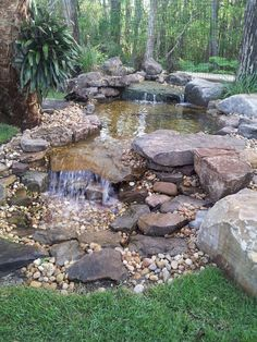 Nice 65 Gorgeous Backyard Ponds and Water Garden Landscaping Ideas https://wholiving.com/65-gorgeous-backyard-ponds-and-water-garden-landscaping-ideas