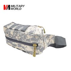 900D Nylon Outdoor Waterproof Camouflage Hunting Waist Bag Men Women Outdoor Airsoft Belt Pack Travel Hiking Tactical Chest Bag