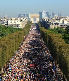 Paris Marathon in Paris, France