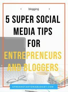 So check out these 5 social media tips for entrepreneurs and bloggers that are important for you to know to improve online - Tap the link now to Learn how I made it to 1 million in sales in 5 months with e-commerce! I'll give you the 3 advertising phases I did to make it for FREE!