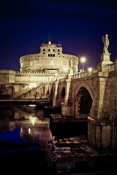 Castel S. Angelo Roma  Italy. I want to go see this place one day. Please check out my website thanks. www.photopix.co.nz