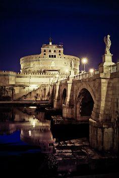 Castel S. Angelo Roma  Italy.