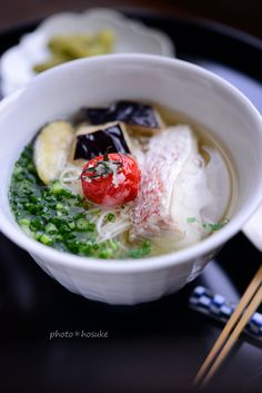 Somen Noodles with Sea Bream