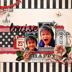 Louise:  **Scrap That! January Kit** - Scrapbook.com