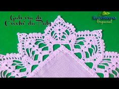 Capa do Botijão de Gás Natalino em crochê,para ser usado no Especial de Natal, na Noite de Natal - YouTube Crochet Blanket Edging, Crochet Edging Patterns, Crochet Lace Edging, Crochet Borders, Crochet Diagram, Crochet Squares, Filet Crochet, Crochet Doilies, Crochet Designs