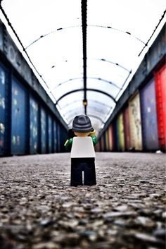 Tunnel Vision | Legography by Andrew Whyte