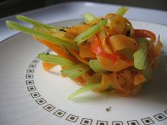 Stir Fry Celery and Carrots