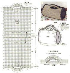 Сумки, связанные крючком - Вяжем сумки