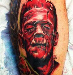 144 Best Frankenstein Tattoos images | Frankenstein tattoo ...  144 Best Franke...
