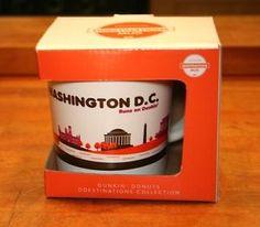 Dunkin Donuts Washington DC Coffee Mug Capital City Destinations Limited Edition in Collectibles, Advertising, Food & Beverage, Coffee & Tea, Merchandise & Memorabilia   eBay
