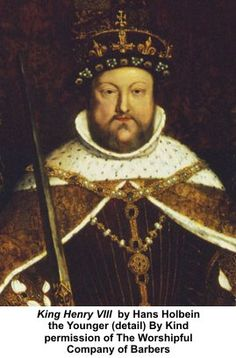 KING HENRY VIII - by Hans Holbein the Younger