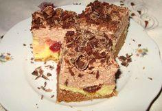 Cseresznyés krémes süti