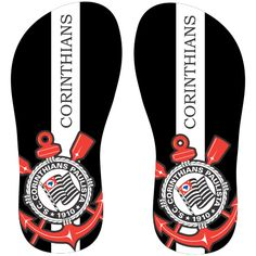 Estampa para chinelo Corinthians 000341 - Customize Transfer                                                                                                                                                                                 Mais
